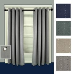 Gabrielle Pinch Pleat Thermal Patio Panel Curtain | Thermal U0026 Blackout  Curtains | Pinterest | Panel Curtains, Patios And Room