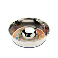 Caldex Classic Stainless Steel Non-Slip Slow Feeder, Small, 19 cm >>> Want additional info? Click on the image. (This is an affiliate link) #Doggies