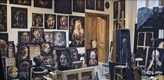 Barceló. Estudio Rue Vieille du Temple. París