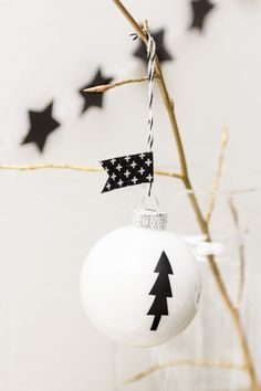 Christmas Decor in Black and White - Its Overflowing