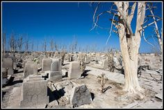 Villa Epecuen is located north of Carhue City and southwest of the city of Buenos Aires in...