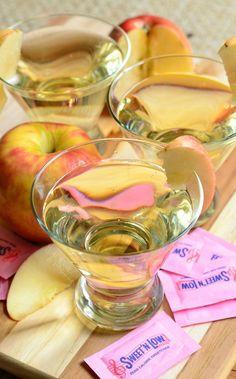 {Skinny} Cinnamon Apple Champagne Martini made with Sweet'N Low®