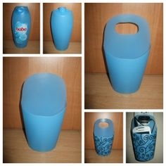 Telefontartó töltéshez, tusfürdős flakonból / Telephone case DIY Diy Crafts Hacks, Diy Home Crafts, Diy Crafts For Kids, Diy Kitchen Projects, Diy Wood Projects, Home Decor Hooks, Plastic Bottle Crafts, Reuse Plastic Bottles, Diy Furniture Videos