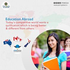 #Education #Abroad Today's Competitive world wants a #Qulification which is being better & different from others #PSMGlobal