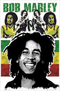 GBEYE Maxi Poster - Bob Marley Rasta - MAXI POSTER - BunlardanIstiyorum.com