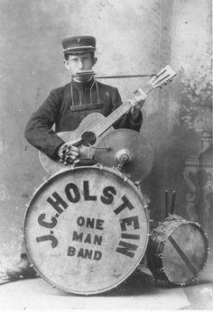 Vintage  One Man Bands (31)