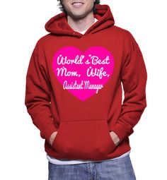 World's Best Mom, Wife, Assistant Manager Hoodie