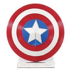 Metal Earth 3D Laser Cut Model Kit Marvel Avengers Captain America Shield