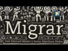 Migrar, de José Manuel Mateo, narra, con la voz de un niño, la experiencia de la migración a Estados Unidos. Con la iluistración de Javier Martinez Pedro, en forma de un pliego de papel amate, la experiencia de la lectura es todavía mas enriquecedora