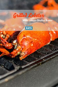Grilling lobster leaves you with a wonderfully tender and sweet meat, while a brushing of lemon-shallot butter adds a nice brightness and richness that accentuates the crustacean's natural flavor.
