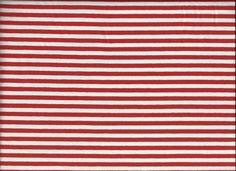 Jersey Ringel Streifen rot weiss