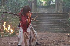 Samurai X live-action Rurouni Kenshin Movie, Kenshin Le Vagabond, Attack Movie, Era Meiji, Lone Wolf And Cub, X Movies, The Last Samurai, Anime Manga, Anime Art