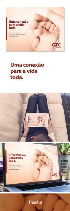 Anúncio GTC Telecom - Dia das Mães. on Behance