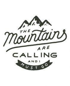 Mountains Are Calling Boyfriend Baseball Tee