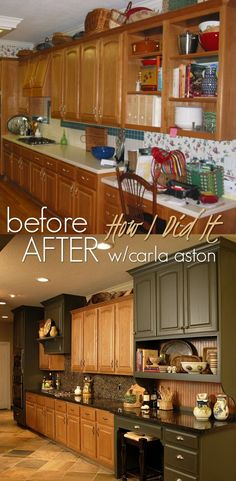 What To Do With Oak Cabinets  What To Do With Oak Cabinets ➤  CARLAASTON.com/…              (adsbygoogle = window.adsbygoogle || []).push({});      Source  by  carlaaston  http://centophobe.com/what-to-do-with-oak-cabinets-4/