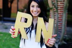 This is a super cute idea for a DIY photo shoot when that glorious graduation day finally comes!