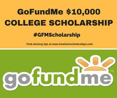 GoFundMe College Scholarship Here is a terrific opportunity for students AND parents The GoFundMe College Scholarship is a 10000 award and should NOT be missed GoFundMe Scholarships Scholarships For College Students, School Scholarship, Grants For College, Financial Aid For College, College Planning, My College, Education College, College Ready, Student Loans