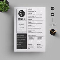 Resume/CV by Reuix Studio on Graphics Author College Resume Template, Resume Design Template, Creative Resume Templates, Cv Template, Graphic Design Resume, Letterhead Design, Cv Design, Resume Tips, Resume Cv