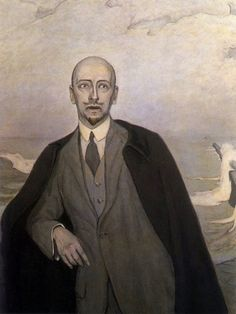Romaine Brooks' Gabriele D'Annunzio The Poet As Exile 1912