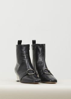 CAREL Marie D Ankle Boot (Black/white)
