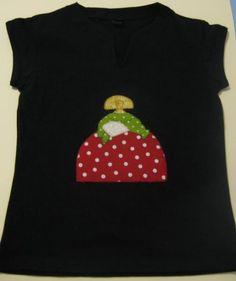 Camiseta menina mod 3 - artesanum com