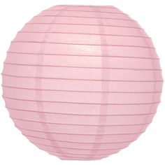 Rose Quartz Pink 24 Inch Round Premium Chinese/japanese Paper Lanterns... ($9.50) ❤ liked on Polyvore