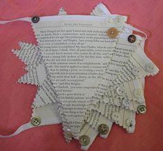 Bunting Wedding Shabby chic, vintage inspired, kitsch, Pride and Prejudice | eBay