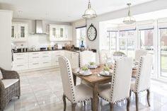 4 bedroom house for sale in Cromwell Heights, Longridge, Preston - Rightmove. Open Plan Kitchen, New Kitchen, Kitchen Decor, Kitchen Ideas, Kitchen Inspiration, Kitchen Dining, Kitchen Chairs For Sale, David Wilson Homes, Modern Grey Kitchen