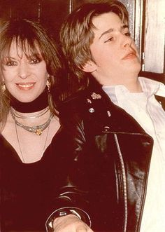 March 12, 1984 - Maureen Starkey and son Jason at the opening of the New York Hard Rock Cafe - which was co-owned by Isaac Tigrett.  Photo by Vinnie Zuffante. From the Maureen Starr Tribute group at Yahoo!