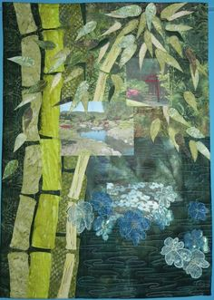 Bamboo, inspired by Anduze gardens, by Patricia at patpatch1618