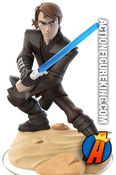 Disney Infinity 3.0 game system presents this STAR WARS ANAKIN SKYWALKER gamepiece. Visit website for full line of Disney Infinity figures including pricing and availability.