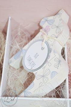 Pudełko z baletnicą - prezent na chrzciny dla Amelki Decoupage, Container, Baby Shower, Aga, Handmade, Blog, Babyshower, Hand Made, Blogging