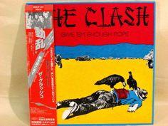 CD/Japan- CLASH, THE Give 'em Enough Rope w/OBI RARE mini-LP CD MHCP-521 LIMITED #GarageRock