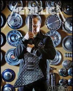 James Hetfield of Metallica with his Esp Explorer JH2 Silver Diamond Plate Guitar . . . . #jameshetfield #jaymz #papahet #jameshetfieldfans #jameshetfieldlovers #jameshetfieldfan #metallica #metallicafan #metallicafans #metallicafamily #metalhead #metalheads #longlivemetal #legendaryband #metal #metalmusic #heavymetal #thrashmetal #esp #espguitars #espexplorer #guitar #guitarworld #guitarporn #espmx250 #guitarist