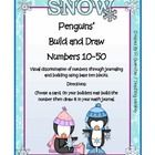 Place Value Build (Tens Only) Penguin Theme/ Winter. This product is for those in Kindergarten and First. Students will build numbers and illustrate...