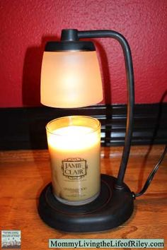 GIVEAWAY ~ Candle Warmers Etc. Contempo Candle Warmer Lamp and Jamie Clair Candle ~ ARV $55!