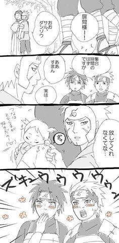 Hashirama, Tobirama, and Tsunade Senju #Naruto