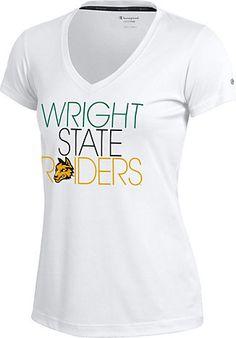 Wright State University Raiders Women's V-Neck Vapor T-Shirt | Wright State University