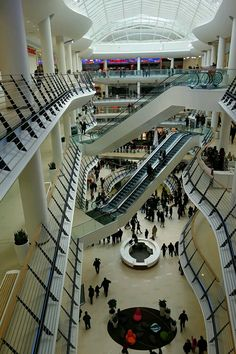 Nugget Design and Basic Collection, Bulgaria Mall Sofia Mall Design, Retail Design, Area Comercial, Shoping Mall, Shopping Mall Interior, Atrium Design, Retail Branding, Furniture Design, Iron Furniture