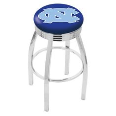 "Use this Exclusive coupon code: PINFIVE to receive an additional 5% off the University of North Carolina 2½"" Ribbed Ring Bar Stool at SportsFansPlus.com"
