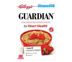 Kellogg's Guardian Cereal GI= 34 For more GI Symbol products http://www.gisymbol.com/products-2/