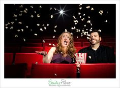 Emily + Pete: Wedding Photographers Spirit. Spontaneity. Harmony. www.emily-pete.com Lawrence. Kansas City. Beyond.  Downtown Lawrence Engagement Session Liberty Hall Movies