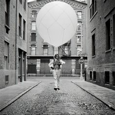 Rodney Smith, 'Reed Floating with Balloon, New York, New York', 2001
