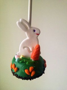 Easter Cake Pop -maybe candy rabit Easter Cake Pops, Easter Bunny Cake, Bunny Party, Easter Cupcakes, Easter Cookies, Easter Treats, Easter Deserts, Easter Garland, Edible Art
