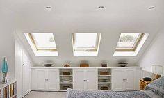 Sensual Attic storage liberty,Minimum attic renovation and Attic bedroom storage ideas. Home, Bedroom Storage, Interior, House, Loft Room, Building A House, Loft Storage, Loft Conversion, Attic Conversion