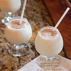 Frozen Bourbon Milk Punch - Louisiana Cookin