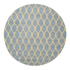 Found it at Wayfair - Hand-Tufted Blue Area Rug