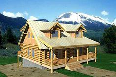 9 Best House Ideas images | Log home, Log cabins, Log cabin homes Gunstock Log Home Plans on steamboat plans, cannon plans, thumbhole stock plans,