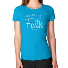 Fueled By Faith - Women's Slim T-Shirt FREE SHIPPING