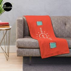 - 100% polyester fleece with soft, fluffy handfeel - Printed on front with solid white on reverse - Edge-to-edge sublimation print - Machine washable #weperceivestyle #designoftheday #redblanket #quoteblanket #throwblanket #throwblankets #fleeceblanket #minimalist #minimallove #goodmood #positiveenergy #energize #positiveillustration #sunshines #quoteblanket #beddingdecor #beddingset #beddingsets  #cozyhome #comfycozy #bedroomdecor #spiritual